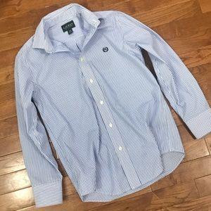 Boys Lauren Ralph Lauren Striped Shirts 12